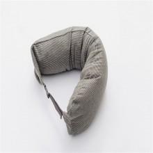 朴寐生活(樸眠).U型枕.绿灰纹  P00003069