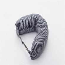 朴寐生活(樸眠).U型枕.蓝灰纹 P00003070